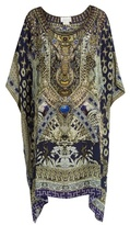 Camilla A Little Past Twilight-print silk kaftan