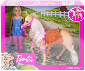 Mattel Barbie(R) Doll and Horse