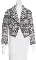 Derek Lam 10 Crosby Cutout Tweed Jacket