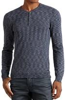 John Varvatos Melange Knit Henley Sweater - 100% Exclusive