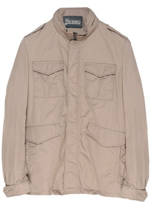 Herno Zipped Cargo Jacket