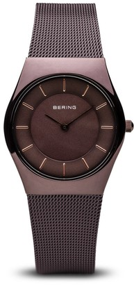 Bering Womens Analogue Quartz Watch with Stainless Steel Strap 11930-105