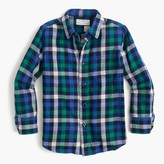 J.Crew Kids' flannel shirt in classic plaid