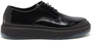 Paul Smith Soane Technical-sole Patent-leather Brogues - Black