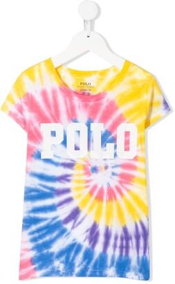 Ralph Lauren Kids tie-dye T-shirt