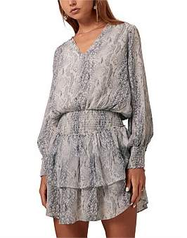 Steele Nile Shirred Dress