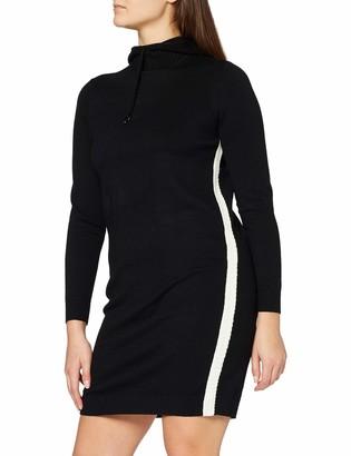 Jaeger Women's Texture Stripe Hooded Dress