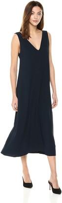 Theory Women's V Neck Maxi Dress
