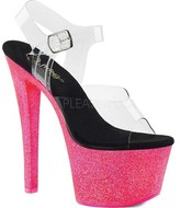 Pleaser USA Sky 308UVG Platform Sandal (Women's)