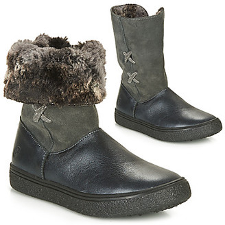 GBB OLINETTE girls's Mid Boots in Grey