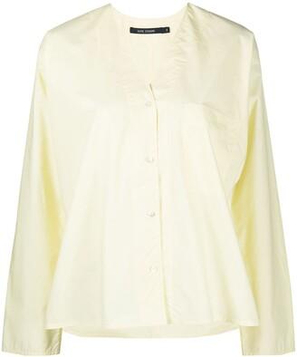 Sofie D'hoore Breach v-neck cotton shirt