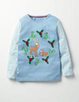 Boden Festive Animals T-shirt