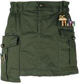 DSQUARED2 'Golden Arrow' mini skirt