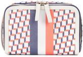 Pierre Hardy Dopp wash bag - unisex - Calf Leather/Canvas - One Size