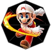 Custom Umbrella Super Mario Custom Folding Umbrella Personalized Foldable Raining Umbrella