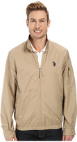 U.S. Polo Assn. Mock Zip Jacket