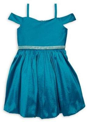Rare Editions Girl's Cold-Shoulder Dress