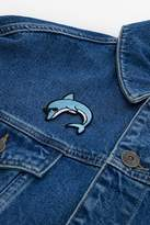 Skinnydip Dolphin Iron-On Patch