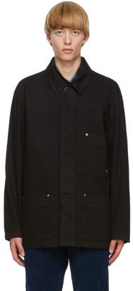 Études Black Denim Excursion Jacket
