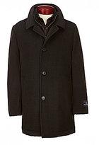 Hart Schaffner Marx Bibbed Wool Carcoat