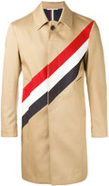 Thom Browne diagonal stripe shell jacket - men - Cotton - 1