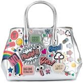 Anya Hindmarch All-Over Stickers Small Featherweight 'Ebury' Tote