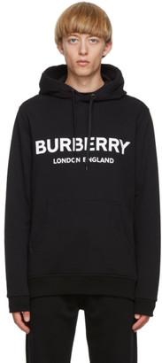 Burberry Black Logo Lexstone Hoodie