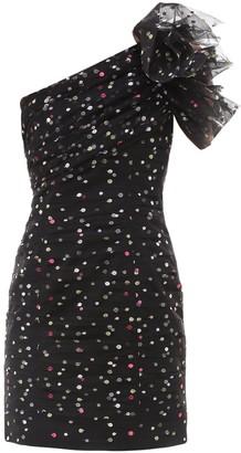 Philosophy di Lorenzo Serafini Patty Dotted Mini Dress