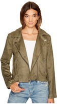 BB Dakota Johanness Woven Faux Suede Jacket Women's Coat