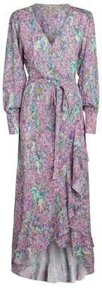 Melissa Odabash Ruffle-Detail Wrap Dress