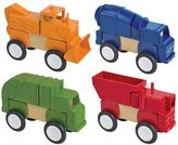 Guidecraft Construction Vehicles Block Mates