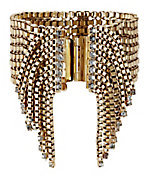 Elizabeth Cole Antique Chain Fringe Bracelet