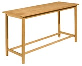 Oxford Garden Dartmoor Long Bar Table - Natural Shorea