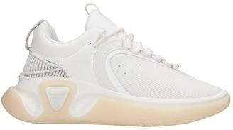 Balmain B Runner Sneakers In White Synthetic Fibers