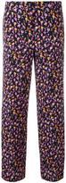 Versace Flower Thrift trousers - women - Silk/Polyester/Spandex/Elastane/Viscose - 38