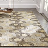 Crate & Barrel Gramercy Wool-Blend Rug