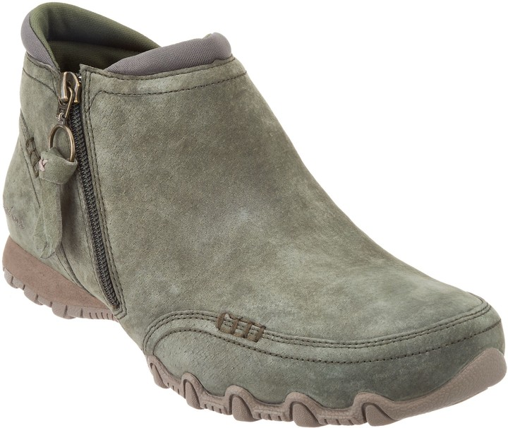 Skechers Relaxed Fit Suede Ankle Boots - Zappiest