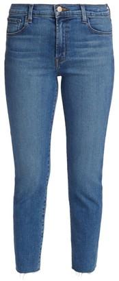 J Brand Ruby High-Rise Crop Cigarette Jeans
