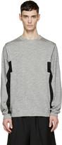 Public School Grey Half Flange Pullover