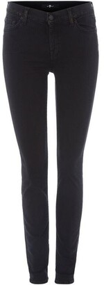 7 For All Mankind JNTHE SKINNY with go Black 32in/32in