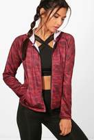 boohoo Molly Fit camo Sports Jacket