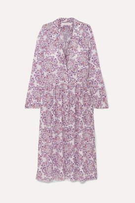 See by Chloe Paisley-print Voile Midi Dress