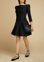KHAITE The Minnie Dress in Black