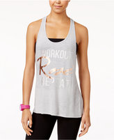 Material Girl Active Juniors' Strappy Graphic Tank Top, Only at Macy's