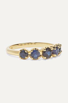 Jennifer Meyer 18-karat Gold Sapphire Ring - 6