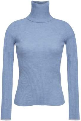 Eleven Paris Six Edie T-Neck Sweater - Powder Blue