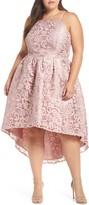 Chi Chi London Crochet High/Low Dress