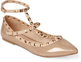 Wild Diva Natural Nude Pippa Pointed Toe Flats
