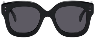 Alaia Black Oversized Sunglasses