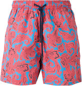 Etro paisley floral print swim shorts - men - Nylon - S